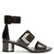 De d'or block-heel sandals