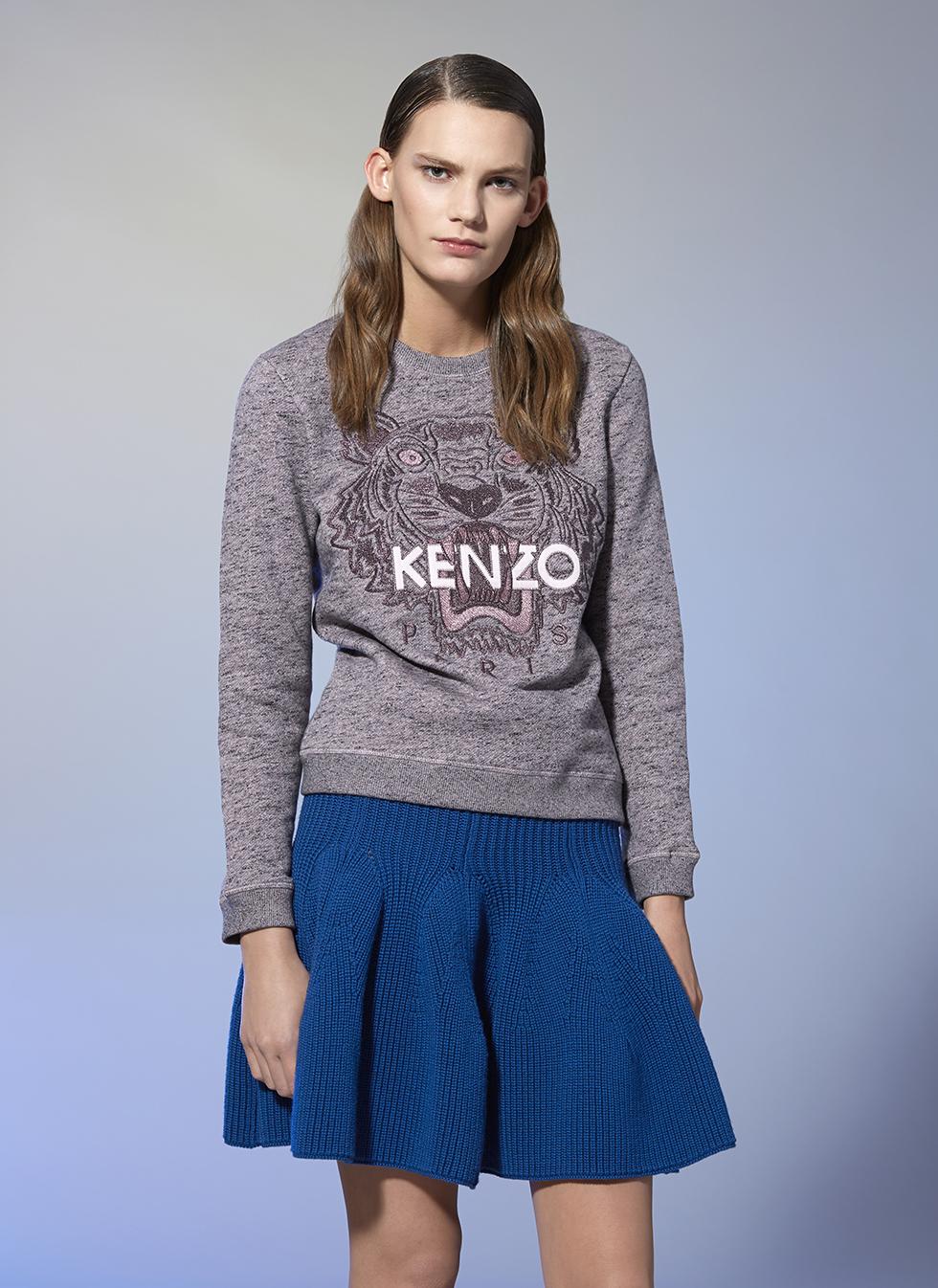 kenzo tiger sweatshirt kenzo sweatshirts sweaters women kenzo e shop. Black Bedroom Furniture Sets. Home Design Ideas