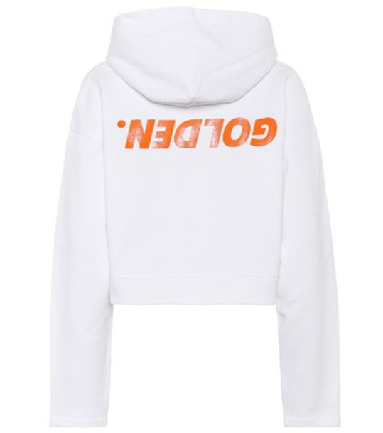 hoodie cotton white sweater