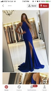 dress,royal blue dress,long,prom dress