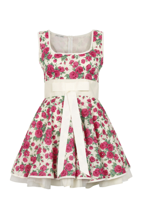 dress flowers cat valentine floral