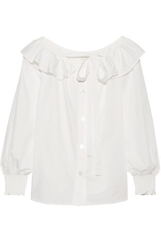 top white cotton