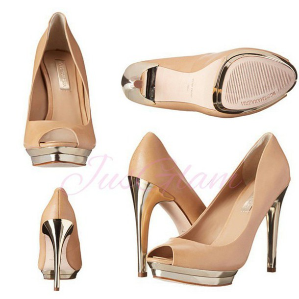 shoes bcbgmaxazria bcbg pumps high heels pumps sparkly heels nude pumps