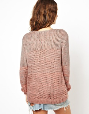 Pink | Brave Soul Jumper In Pink Twist at ASOS