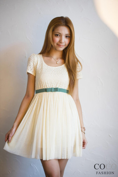 Dress clothes party dress cute dress lace dress girly - Wheretoget