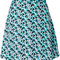 Michael michael kors floral-print a-line mini skirt - farfetch