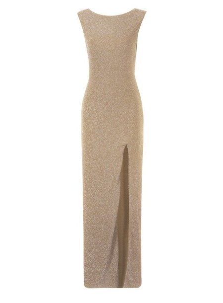 dress gold dress maxi dress slit dress long dress