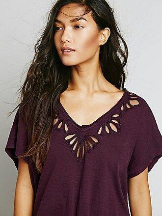 blouse crochet cutout blouse