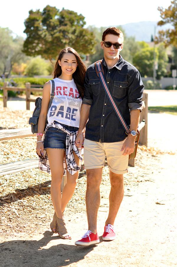 hapa time top shoes jeans sunglasses jewels bag