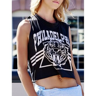 top rose wholesale crop tops black hippie hipster streetstyle summer tank top