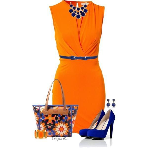 dress belt heels necklace
