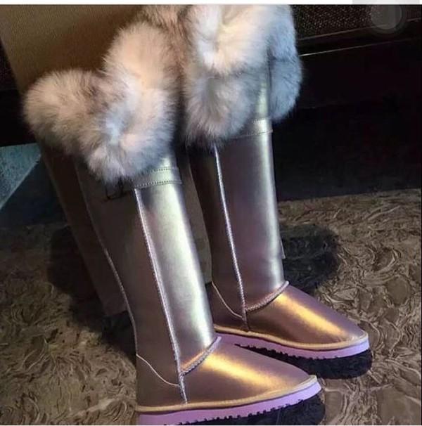 Shoes Boots Fur Uggs Uggsaustralia Uggs Pink