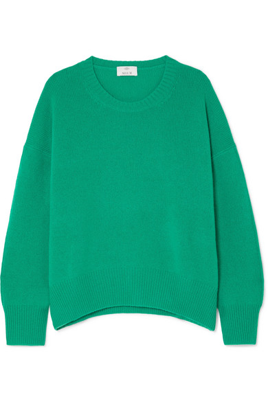 Allude - Oversized cashmere sweater