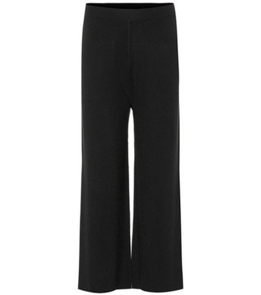 81hours Tabby wool pants in black