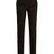 Micro-cross appliqué straight-leg cady trousers