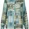 All-over money print shirt - topshop
