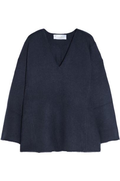 Chloé Chloé - Iconic Oversized Cashmere Sweater - Navy