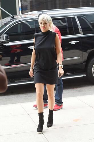 dress black dress little black dress rita ora