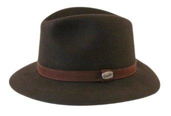 bc3807a532f Amazon.com  Borsalino Traveler Fur Felt Hat  Clothing