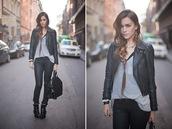 perfecto,leather jacket,caroline,jacket