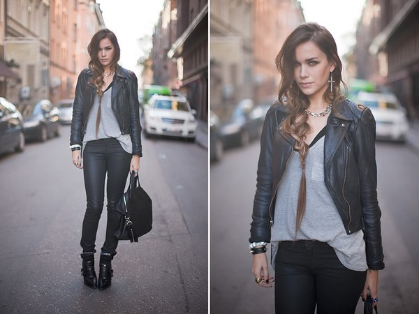 perfecto leather jacket caroline jacket