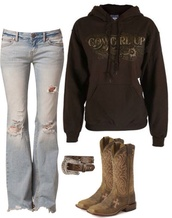 sweater,country,country style,country western top,jeans,ripped jeans