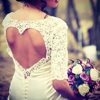 dentelle blanche cute white dress dentelle dress wedding dress love dress heart dress hipster wedding heart