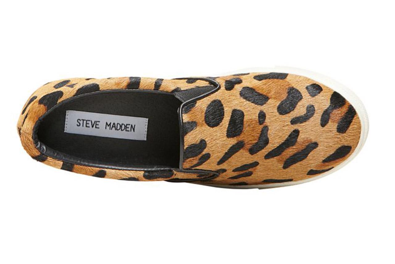 los mejores zapatos y moda para niños de estilo casual Steve Madden-ecentric Steve madden Leopard Pony 109