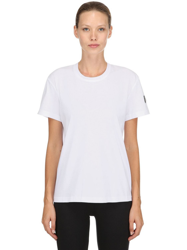MONCLER GENIUS 6 Moncler Noir Jersey Technique T-shirt in white