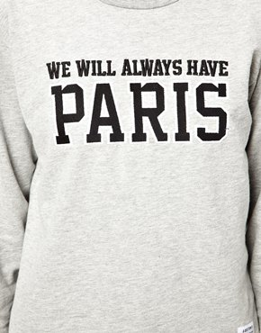 A Question Of | A Question Of Organic Paris Sweatshirt at ASOS