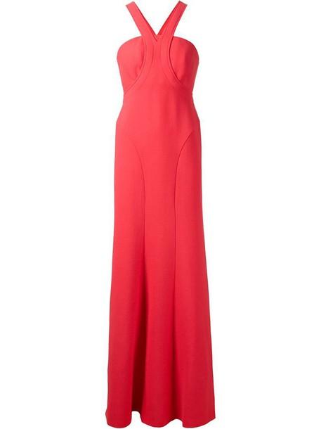 Calvin Klein Collection dress evening dress purple pink