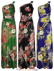 dress,ladies,summer,floral,maxi dress,maxi,top,skirt,elegant,trendy,grecian maxi dress,evening dress,one shoulder,celebrity style