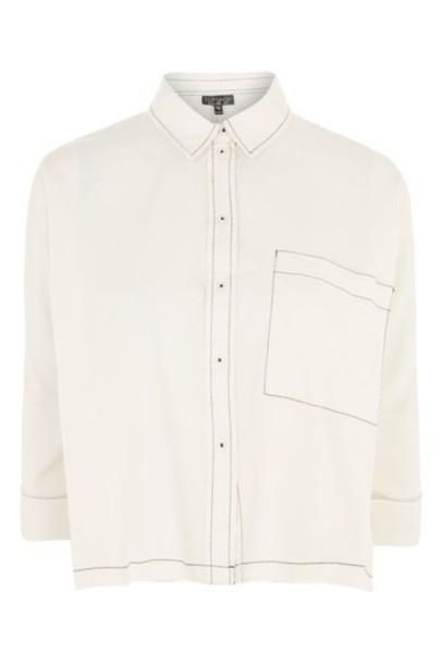 Topshop shirt top