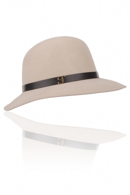 Hannelore Hat Warm Grey - Shop online
