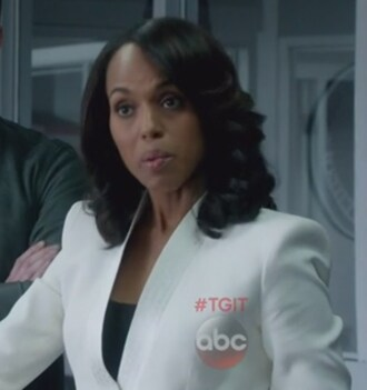 jacket white blazer olivia pope scandal dotted trim kerry washington crepe jacquard silk