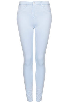 MOTO Pale Blue Leigh Jeans - Jeans  - Clothing  - Topshop