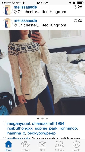 pockets cable knit