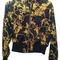 Akira scarf print black gold jacket 37% off | tradesy