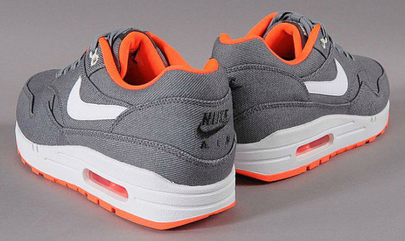 shoes air max gris orange