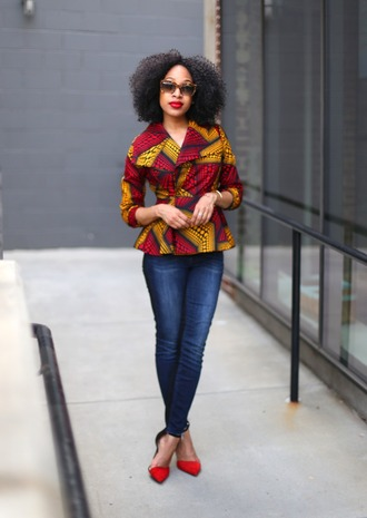 mattieologie blogger skinny jeans pointed toe red shoes