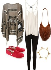 shirt,white,black,red,brown,cute,gold,purse,tribal pattern,toms,tank top,bag,backpack,sweater,jacket