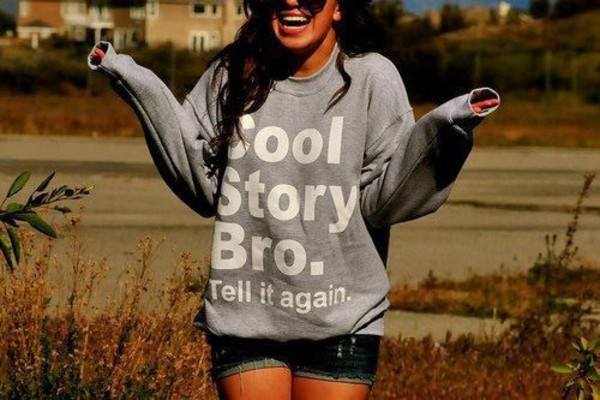 sweater cool story bro