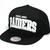 123SNAPBACKS Oakland Raiders Bold Team Arch Snapback HatBlack : Karmaloop.com - Global Concrete Culture