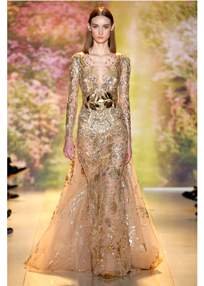 Zuhair murad haute couture 2014 spring summer collection