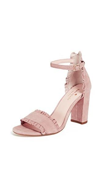 Kate Spade New York heel sandals blush shoes