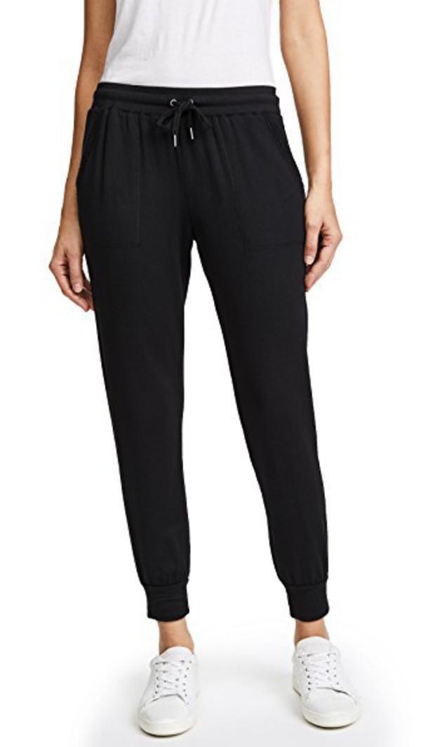 Splendid Brushed Sweatpants in black