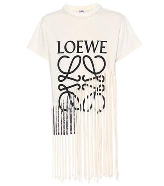 t-shirt shirt cotton silk white top