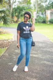 pinksole,blogger,sunglasses,jewels,t-shirt,jeans,shoes,bag,adidas,skinny jeans,sneakers,plus size jeans,curvy,plus size