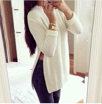 sweater white off white shirts shirt top