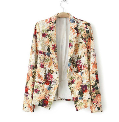 In bloom floral blazer · luxe muse · online store powered by storenvy
